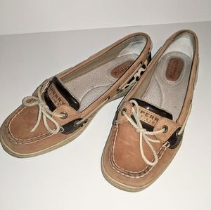 Sperry Cheetah Print Boat Shoes